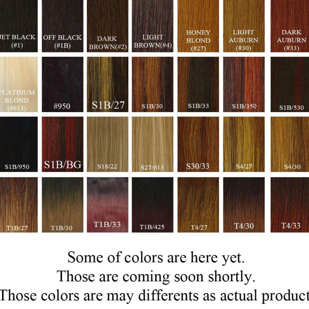 African american hair color chart pictures 3