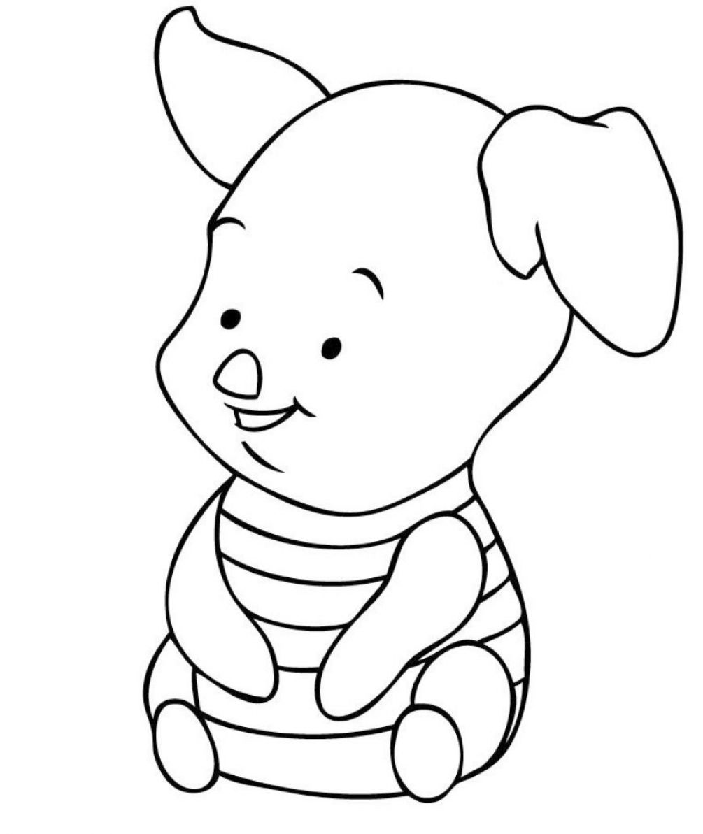 Cartoon Characters Disney Baby Themes Kootation Coloring Pages