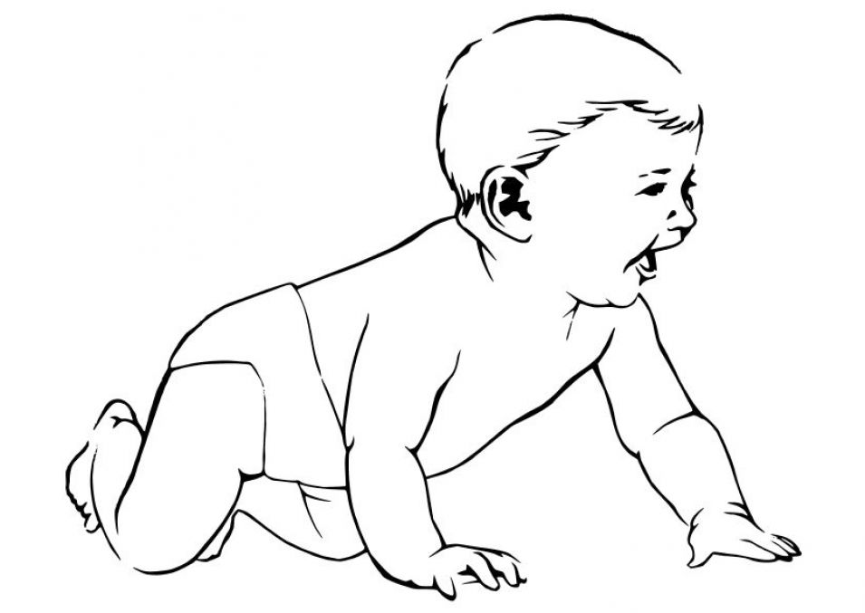 Free Coloring Pages Baby Disney Characters : Free baby disney character coloring pages