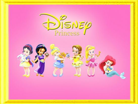 baby disney princess cartoon 4jpg