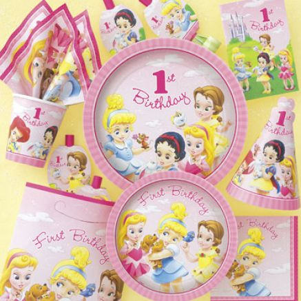 Baby Birthday Party Ideas on Baby Disney Princess Party 1 Jpg