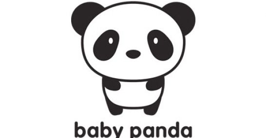 How to draw a cute baby panda - photo#22