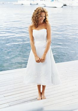 Wedding Dress Online on Beach Wedding Dresses Casual Pictures 2