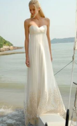Beach Dress on Beach Wedding Dresses Pictures Pictures 4