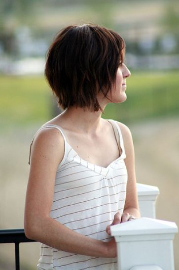 Best short hair for round face pictures 1