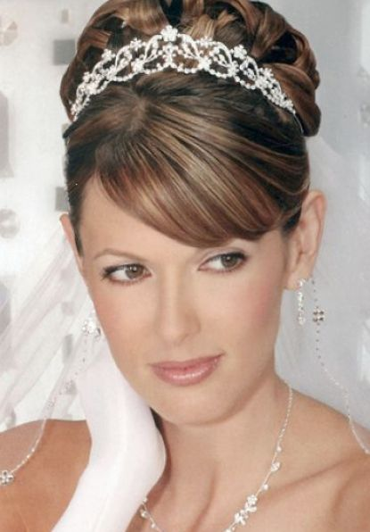 Best wedding hairstyles for round faces pictures 4