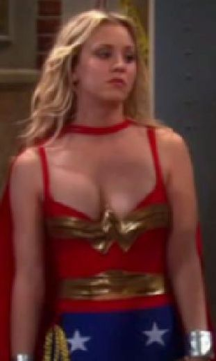 big bang theory penny cleavage 1