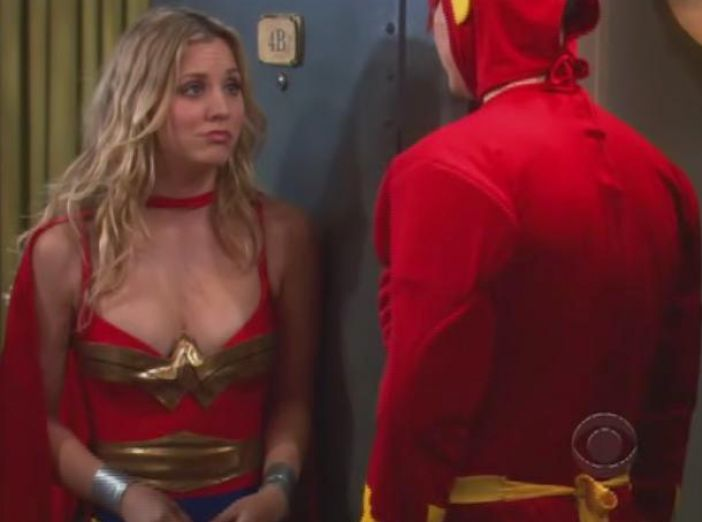 big bang theory penny cleavage 4