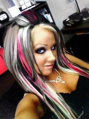 Black and blonde hair color ideas pictures 2