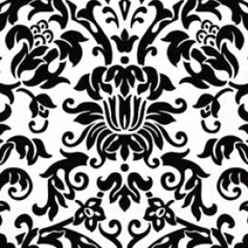 Royalty-Free (RF) Clip Art Illustration of a Black And White
