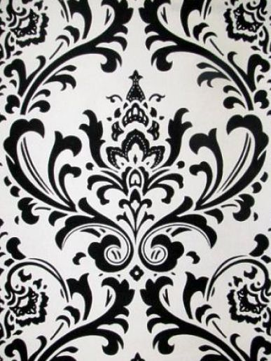 Free Vector: Seamless Black and White Floral Design | Tuts King