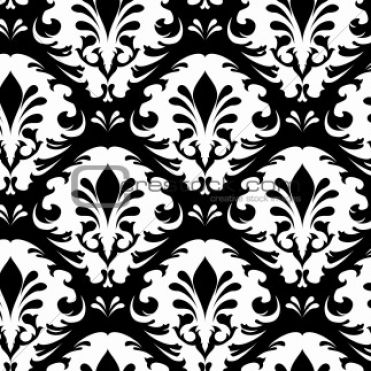 black and white patterns backgrounds. Black and white floral