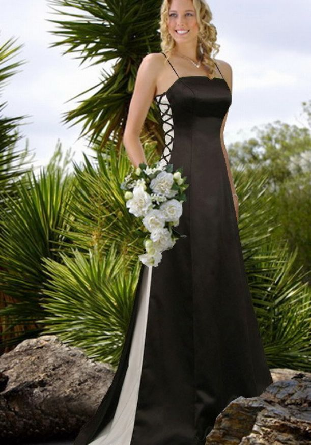 black wedding dresses uk