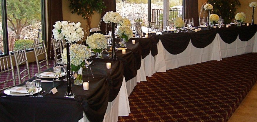 Black Centerpiece Ideas