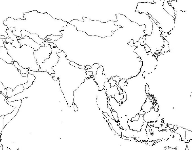vdnamap south east asia map blank