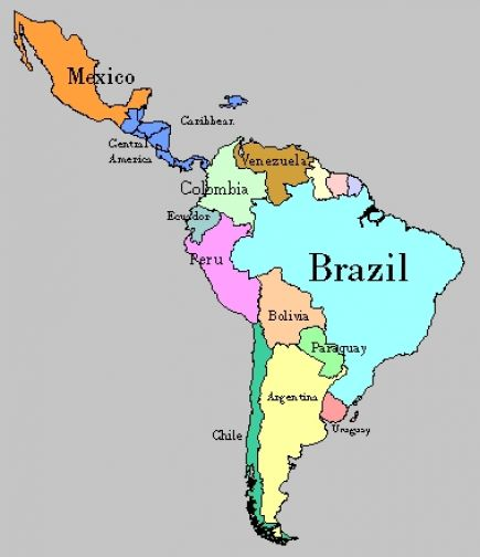 Blank Map Of South America Search Results Calendar 2015