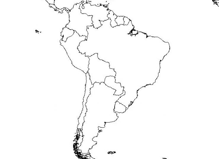 Blank Map Latin America New Calendar Template Site