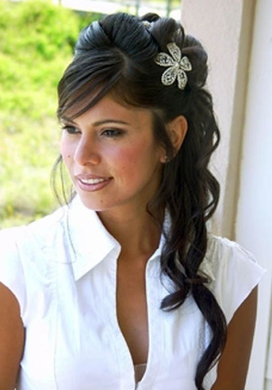 Excellent Down Wedding Hairstyles for Long Hair 546 x 783 · 47 kB · jpeg