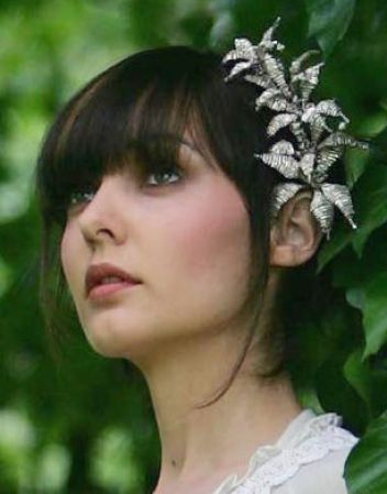 Bridal hair pieces for short pictures 1