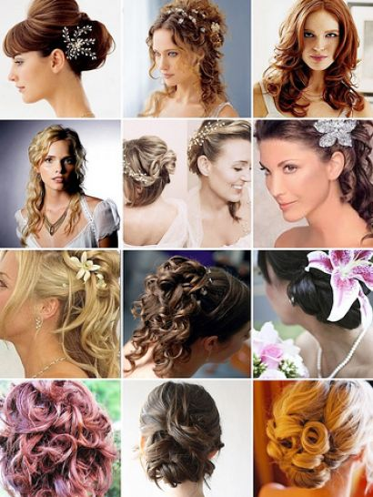 bridal hair with flowers 1