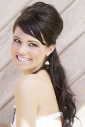 down wedding hairstyles with veil. Half Up Half Down Wedding Hairstyles