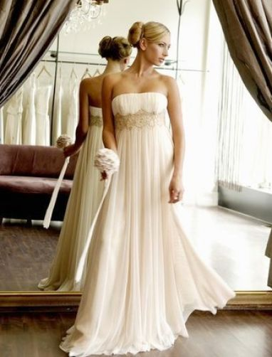Bridal hairstyles with strapless dresses pictures 2