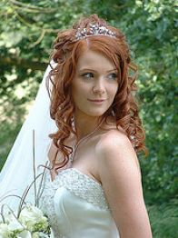 bridal hairstyles with veil 2