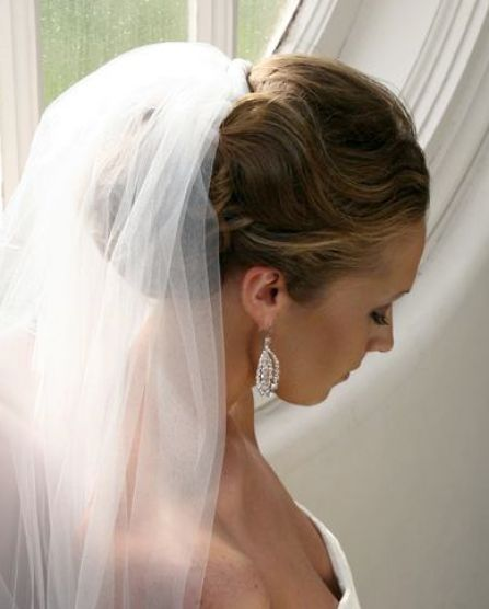 bridal hairstyles with veil 3