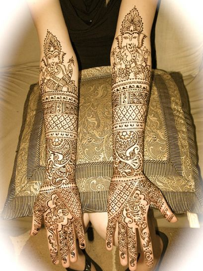 bridal mehndi designs for wedding 2