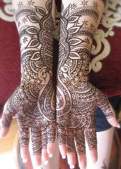 bridal mehndi designs 1