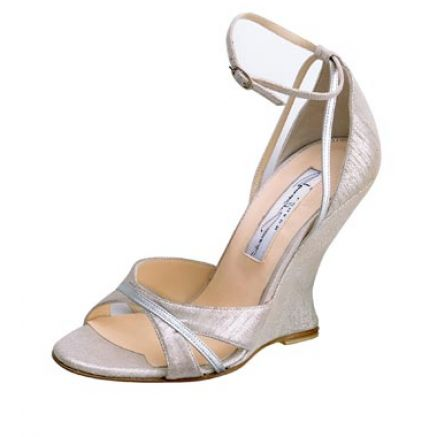 bridal shoes wedges 1