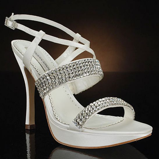 bridal shoes with bling pictures 4