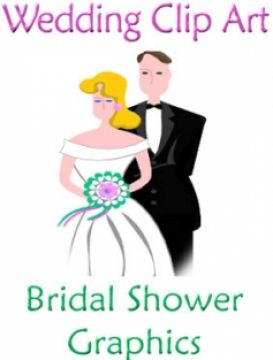 bridal shower clip art 3