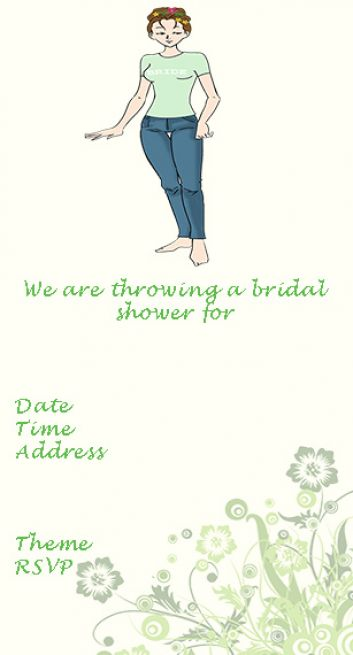 bridal shower clip art 4