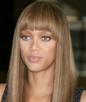 Brown Hair With Blonde Fringe 26