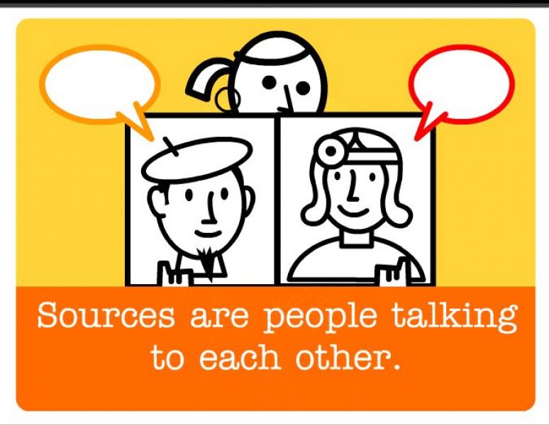cartoon pictures of people talking to each other 2