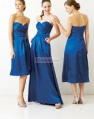 Cheap Bridesmaid Dress on Cheap Royal Blue Bridesmaid Dresses Pictures 3