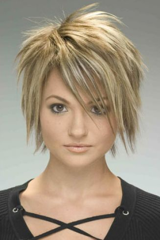 Choppy layered haircuts for medium length hair pictures 4