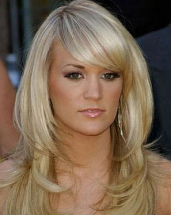 Choppy layered long hair with fringe pictures 4