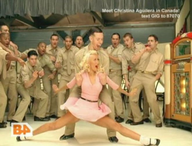 christina aguilera candyman video. Candyman christina aguilera