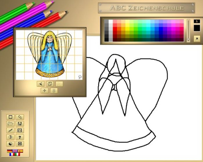 Christmas pictures for kids to draw pictures 2