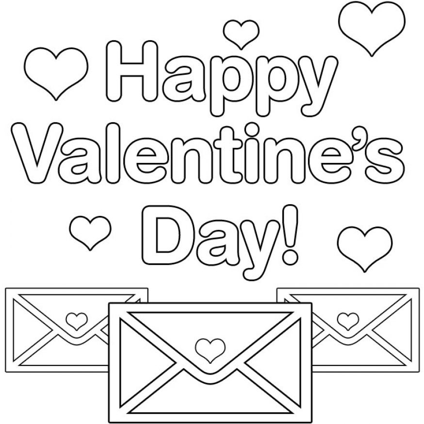 valentine coloring pages by numbers - photo #45
