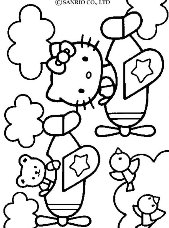 Hello Kitty And Friends Coloring Pages. Sanrio com home of hello kitty