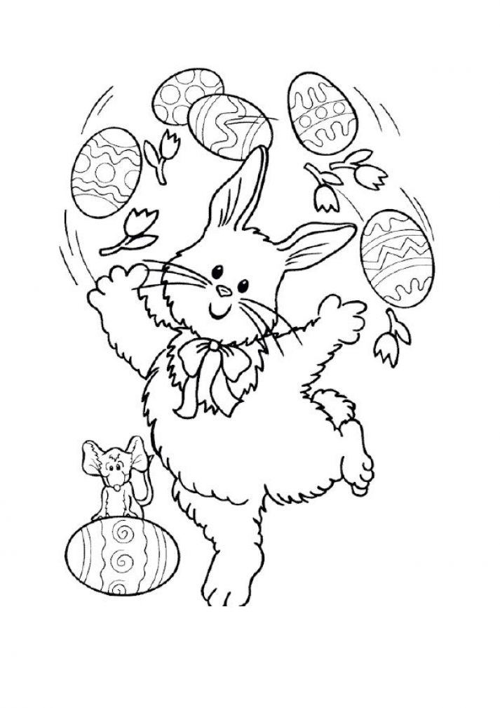 Colouring pictures for kids easter pictures 3