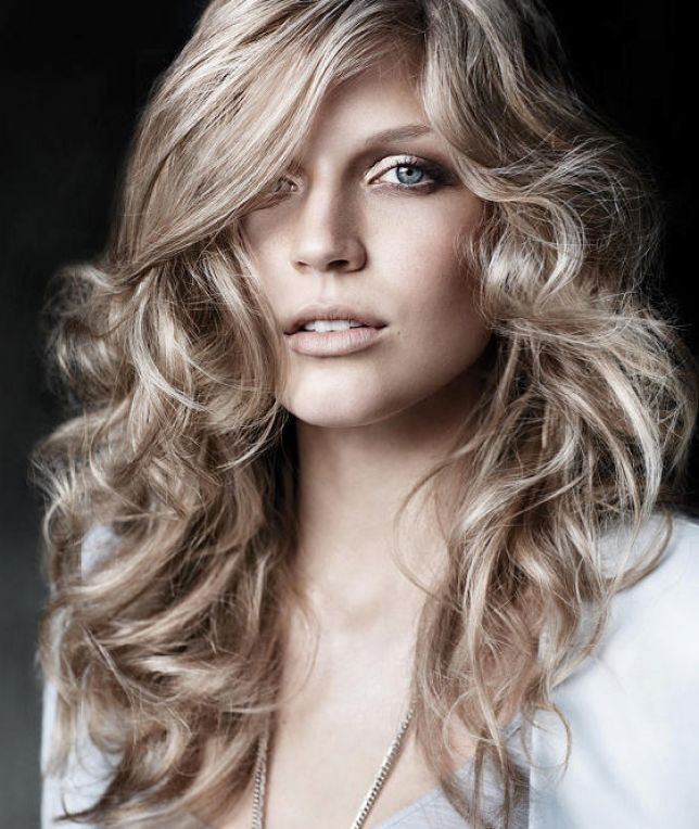 Cool Hairdos For Curly Hair : Cool hairstyles for long curly hair