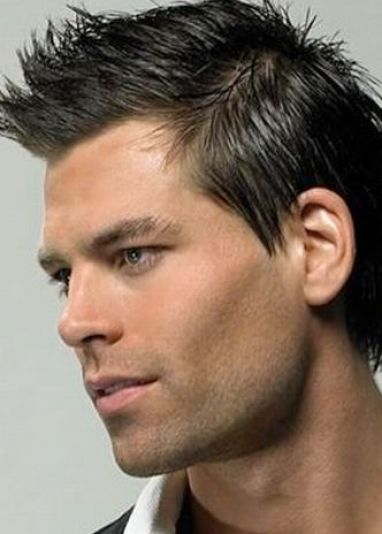 Cool hairstyles for men spiky pictures 1