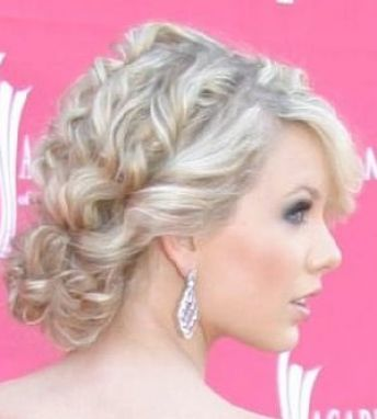 Taylor Swift Updos for Prom