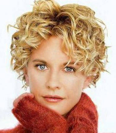 Excellent Short Hair Styles For Curly Hair And Round Face