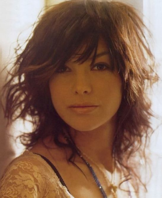 Original 15 Hairstyles For Curly Hair With Bangs Photo