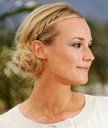 prom updo hairstyles for medium length hair. Medium Updo Hairstyles Here